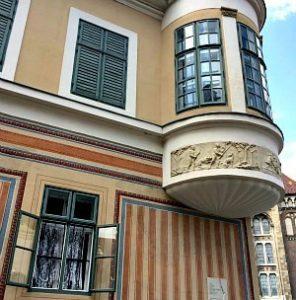 Wien Budapest Prag: Haus in Buda