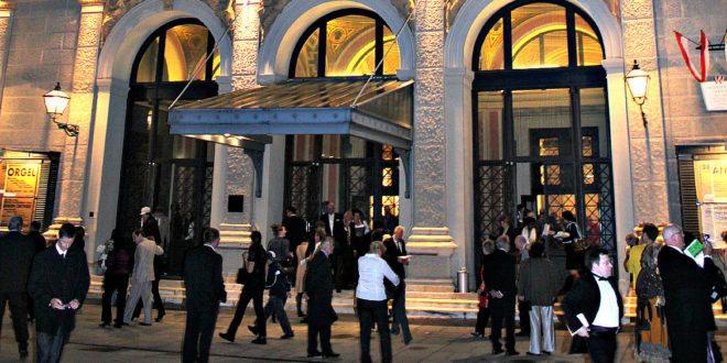 Vienna concerts dress code: Wiener Musikverein