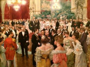 Vienna Museum: Ball of the City of Vienna, Wilhelm Gause, 1904