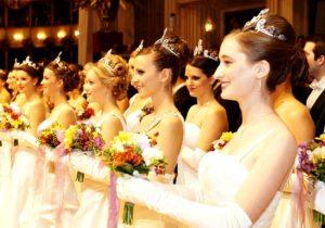 Vienna State opera ball debutantes