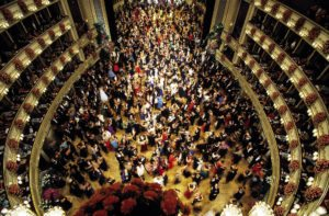 Vienna Opera Ball: dance floor