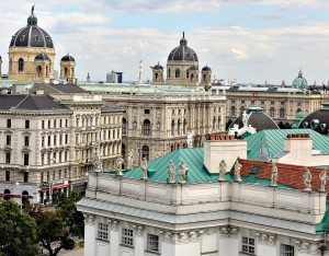 Vienna Sightseeing Top 10: view from 25 Hours Hotel