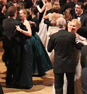 Things to do in Vienna January: waltz dance lessons
