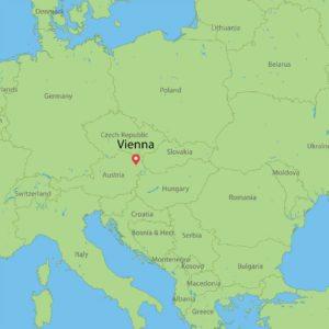 Visit Vienna: Location in Europe