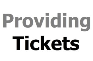 Vienna Advertising: Providing Tickets Logo