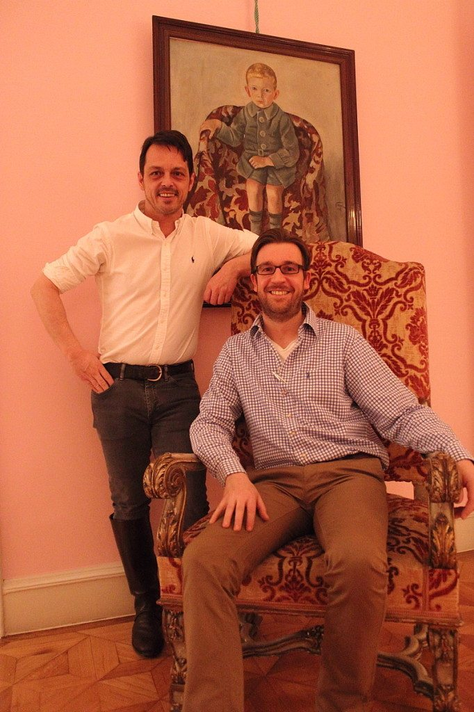 Thomas and Wolfgang of Vienna restaurant Mezzanin 7