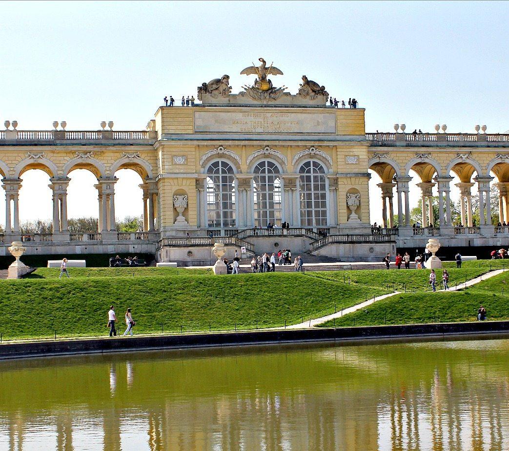 Hietzing Gate of Schonbrunn Palace, Vienna