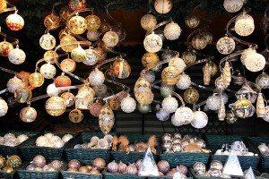 Schonbrunn Palace Christmas market baubles