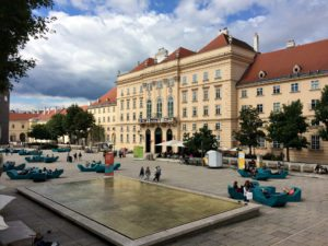 Art Walk in Vienna: Museumsquartier