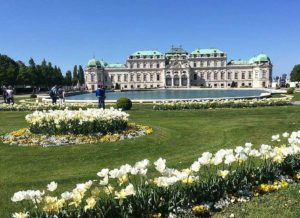 Baroque Gardens in Vienna: Belvedere Palace
