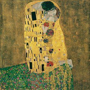 Klimt's The Kiss