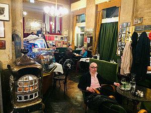 Vienna coffee houses: Cafe Jelinek