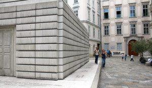 Jewish Vienna: Shoa memorial Judenplatz
