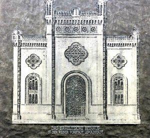 Jewish temple Leopoldstadt