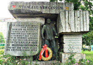 Vienna Jewish Tour: memorial at Morzinplatz