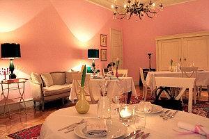 Vienna restaurant Mezzanin 7: dining room