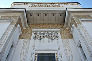 Vienna Secession: main entrance