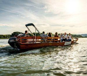 Wachau boat ride in a Zille