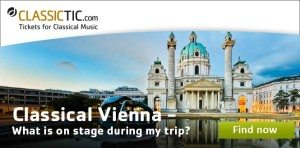 baroque classical music in Vienna: ClassicTic