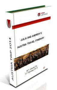 Travel Vienna:  itinerary booklet