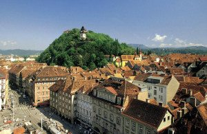 Austria Travel Guide: Graz Schlossberg