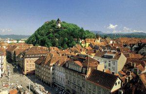 Austria Travel Guide: Graz Schlossberg
