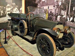 Vienna Museums: Archduke Francis Ferdinand's car