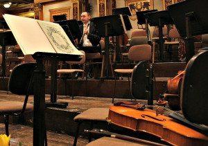 Vienna Philharmonic Orchestra: concert break