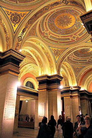 Vienna concerts: foyer of Musikverein