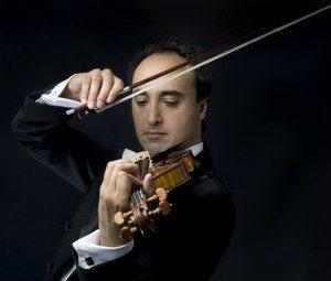 Vienna concerts: violinist Mario Hossen