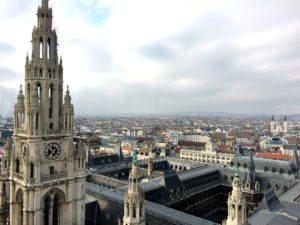 Vienna Tourism: Vienna City Hall from above