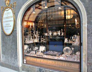 Rozet and Fischmeister shop in Vienna