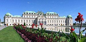 Vienna metro: Belvedere Palace
