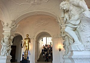 Foyer of Belvedere Vienna