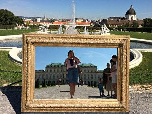 Belvedere Vienna: Perfect Tourist art installation