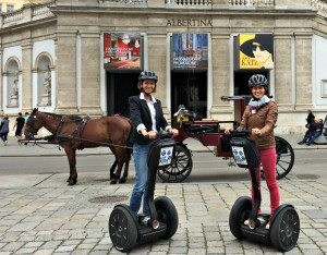 Things to do in Vienna August: segway tour