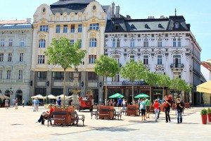 Things to do in Vienna May : day trip to Bratislava