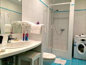 Vienna apartment rental: bathroom