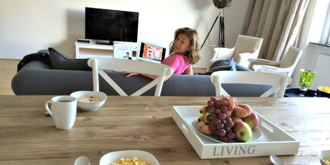 Vienna apartment rental: living room