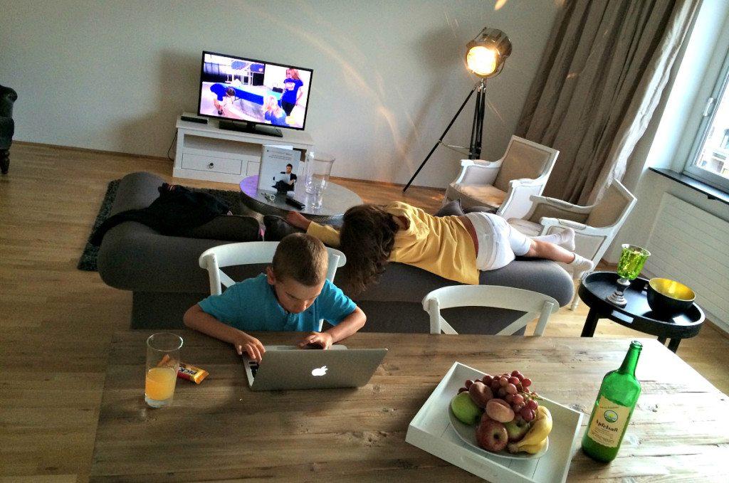 Vienna apartment rental: lounge area