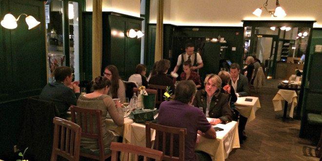 Vienna restaurant Plachutta: interior
