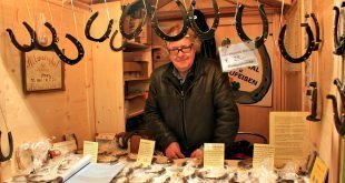 New Years Eve in Vienna: market stall