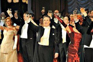 New Years Eve in Vienna: operetta Fledermaus