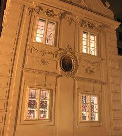 Vienna by night: Dreimaederlhaus