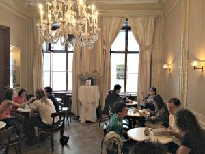 Demel Vienna: salon