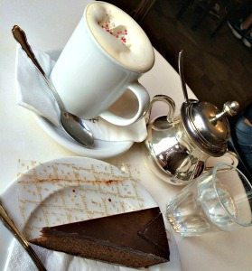 Demel Vienna: Demel cake and coffee