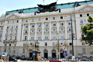 Ringstrasse Vienna: former Military Ministry