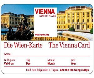 Vienna travel card: Vienna Card