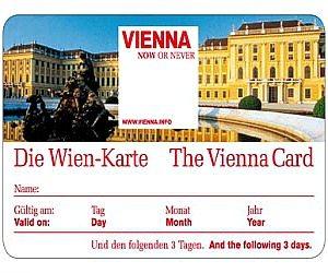 Vienna metro: Vienna Card