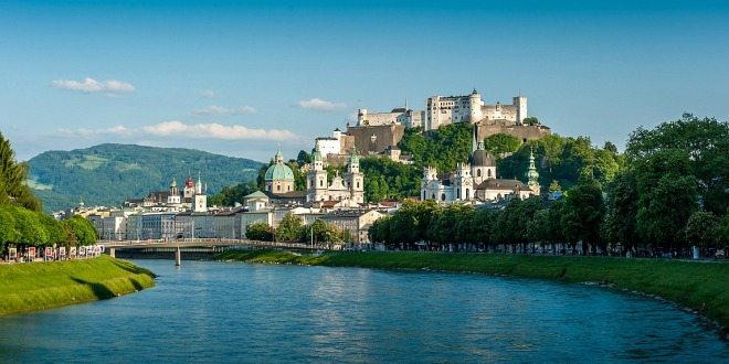 Vienna Tours to Salzburg: city view